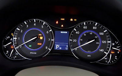 2011 Infiniti QX56 Gauges