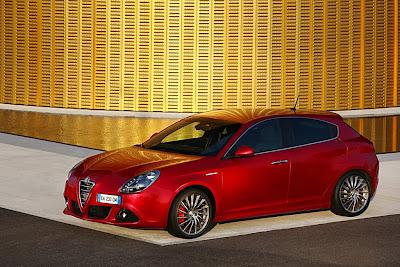 2011 Alfa Romeo Giulietta Red Series