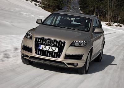 2011 Audi Q7 Front Action View