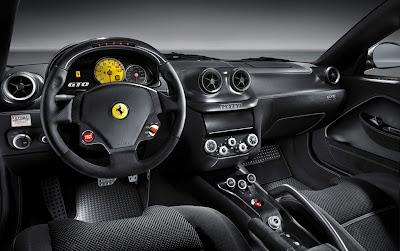 2011 Ferrari 599 GTO Car Interior