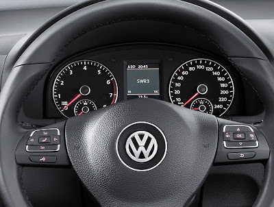 2011 Volkswagen Touran Gauges