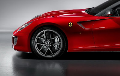 2011 Ferrari 599 GTO Wheel View