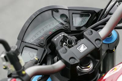 2010 Honda CB1000R Dash View