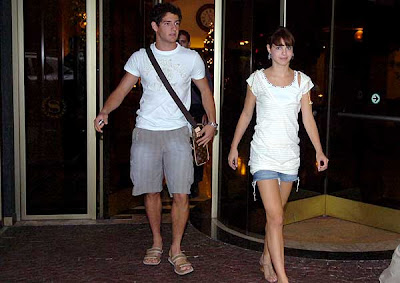 Alexandre Pato with Girl