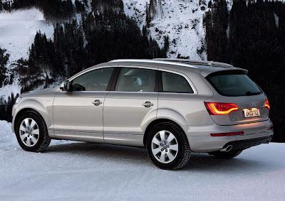 2011 Audi Q7 Side View