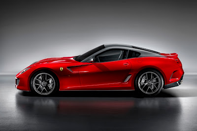 2011 Ferrari 599 GTO Side View