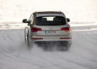 2011 Audi Q7 Rear View
