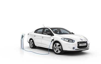 2011 Renault Fluence ZE Electric Car