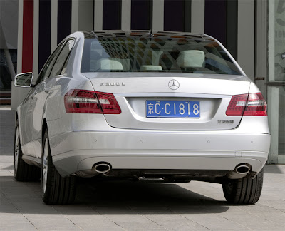 2011 Mercedes-Benz E-Class L Rear View