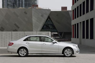 2011 Mercedes-Benz E-Class L Side View