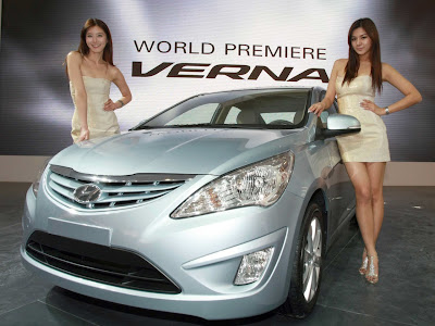 2011 Hyundai Verna-Accent Sexy Car Girls