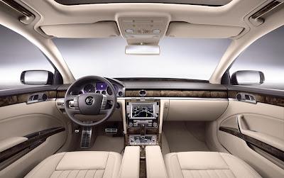 2011 Volkswagen Phaeton Interior