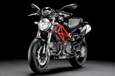 2011 Ducati Monster 796 Front Side View