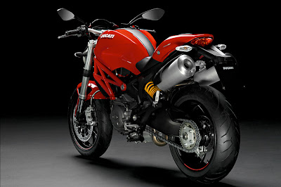 2011 Ducati Monster 796 Rear Side View
