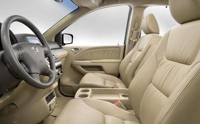 2010 Honda Odyssey Front Seats