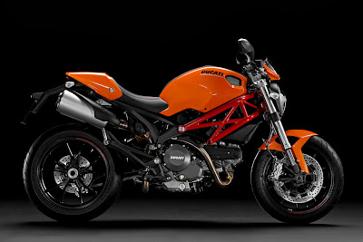 2011 Ducati Monster 796 Orange