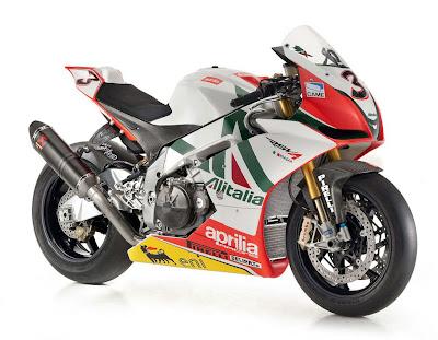 Aprilia RSV4 Max Biaggi Replica Sport Bikes