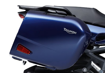 2011 Triumph Sprint GT Trunk