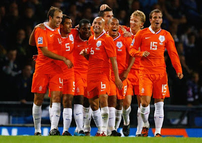 Holland Team World Cup 2010 Best Football Team