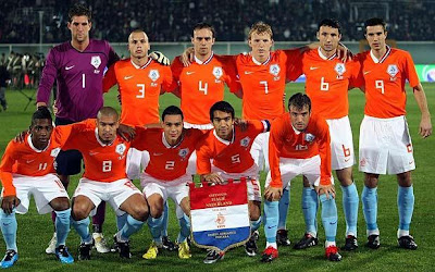 Holland Team World Cup 2010 Official Team