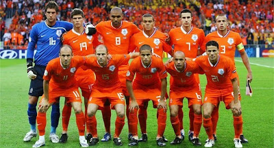 Holland Team World Cup 2010 Football Wallpaper