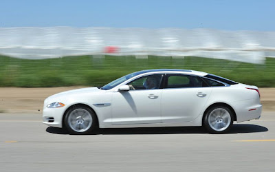 2011 Jaguar XJ L Supercharged Side View