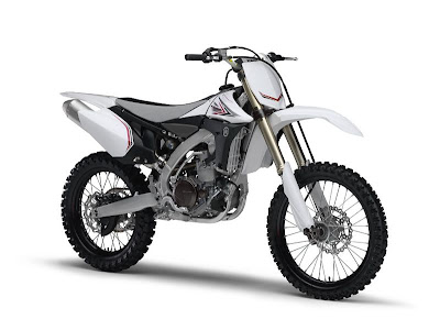 2010 Yamaha YZ450F White Edition