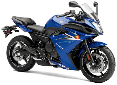 2010 Yamaha FZ6R Blue Color