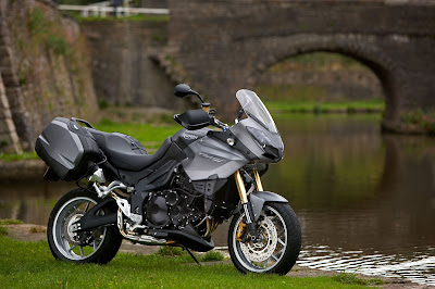 2010 Triumph Tiger Special Edition Wallpaper
