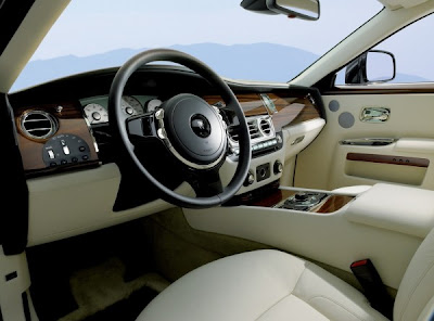 2011 Rolls-Royce Ghost Interior
