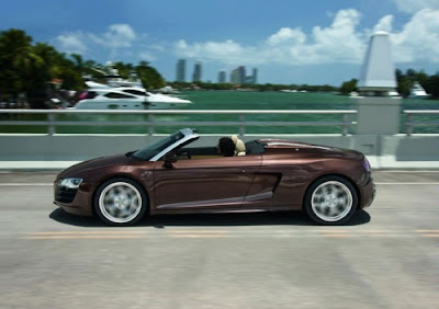 2010 Audi R8 Spyder Side View