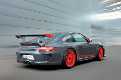 2010 Porsche 911 GT3 RS Rear View