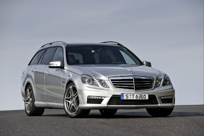 2010 Mercedes-Benz E63 AMG Estate Front View