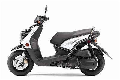 2010 Yamaha Zuma 125 Sporty Scooter