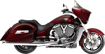 2010 Victory Cross Country Red Edition