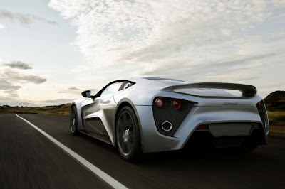 2010 Zenvo ST1 Rear View