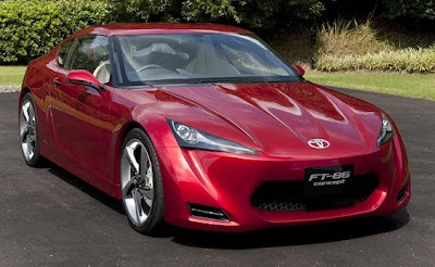 2009 Toyota FT-86 Concept Front View