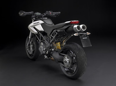 2010 Ducati Hypermotard 796 Rear Angle