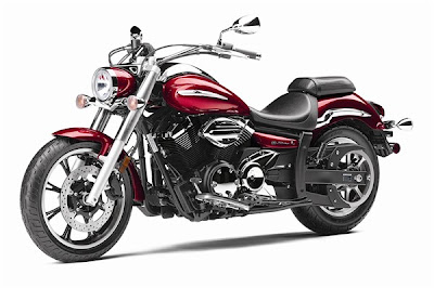 2010 Yamaha V-Star 950 Red Color