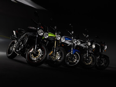 2010 Triumph Speed Triple Motorcycles