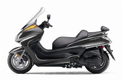 2010 Yamaha Majesty Black Color