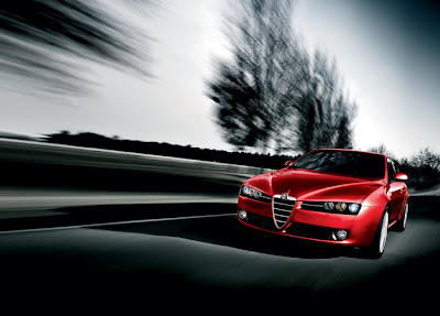 2009 Alfa Romeo Brera Car Wallpaper
