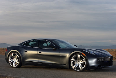 2010 Fisker Karma Side View