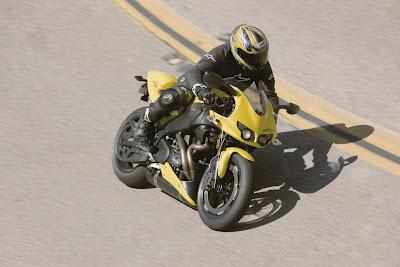 2010 Buell Firebolt XB12R Action