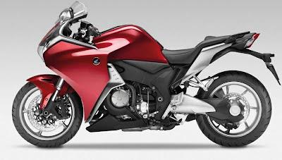 2010 Honda VFR1200F Sport Bike