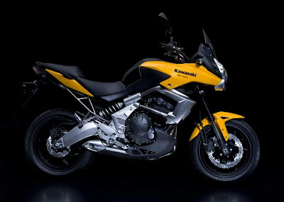 2010 Kawasaki Versys Yellow Edition