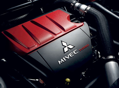 2010 Mitsubishi Lancer Evo X Engine