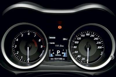 2010 Mitsubishi Lancer Evo X Dashboard
