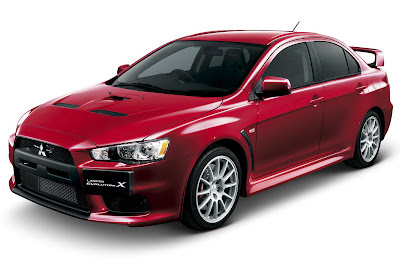 2010 Mitsubishi Lancer Evo X Car Wallpaper