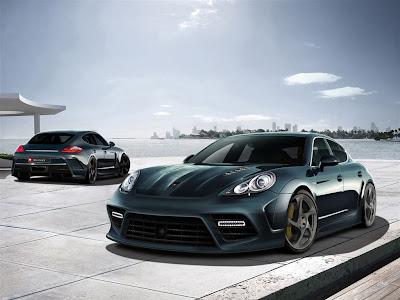 2010 Mansory Porsche Panamera Wallpaper